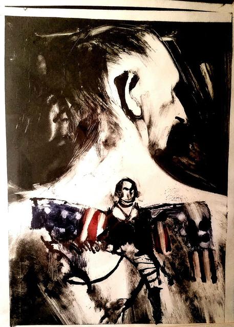 , 'Tattooed Back,' 1995, Tabla Rasa Gallery