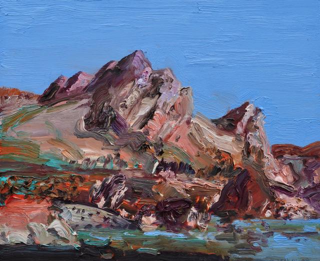 , 'Rock Face, Brigus,' 2012, Christina Parker Gallery