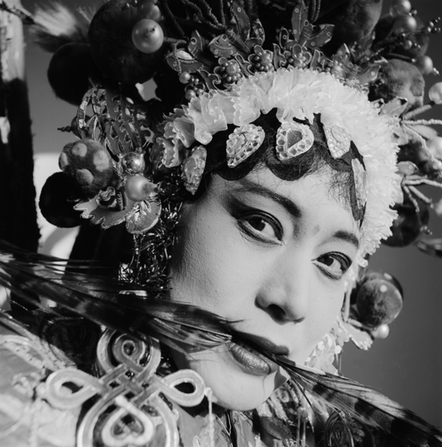 , 'An Actress of Hebei Opera, Huoshentai, Henan Province,' 2000, Blindspot Gallery