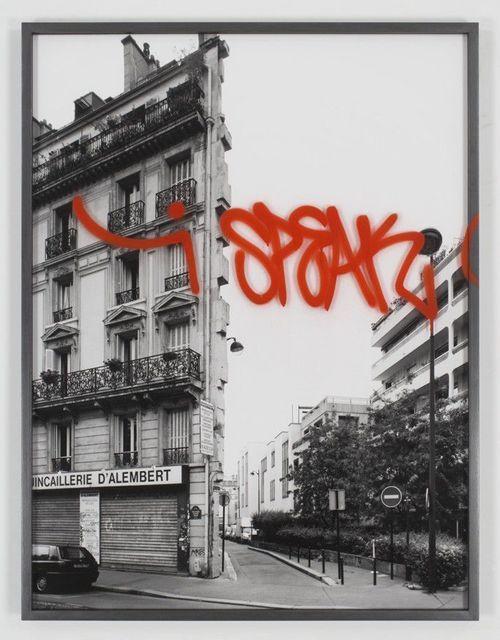 , 'I speak 2/5,' 2007, Galería Juana de Aizpuru