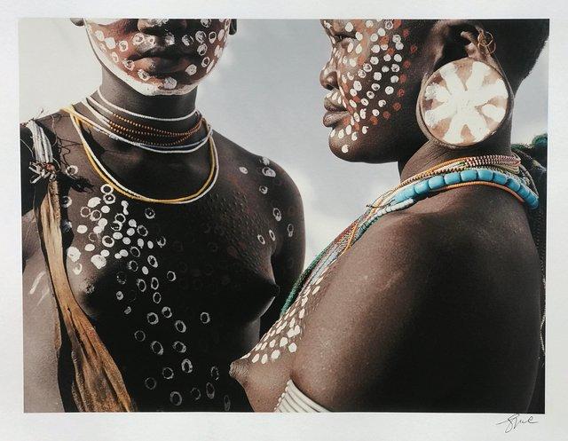 , 'Two Sisters, Surma, Ethiopia ,' 1996, 99Prints