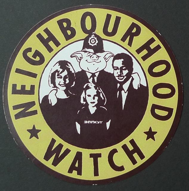 Banksy, 'Neighbourhood Watch', Bengtsson Fine Art
