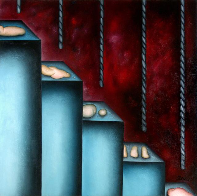 Antonio Henrique Amaral, 'INSIDE AND OUTSIDE I', 1991, ArtSpace / Virginia Miller Galleries