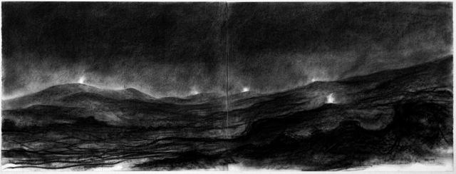 , 'Signal Fires,' 1991, Hakgojae Gallery