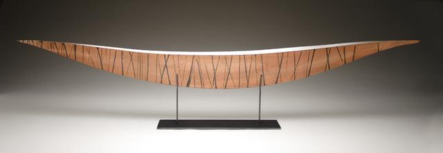 Julie Girardini, 'Copper Black Striped Boat', Zenith Gallery
