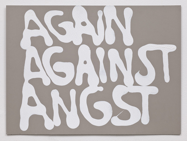 , 'Again against angst,' 2011, Thomas Solomon Gallery