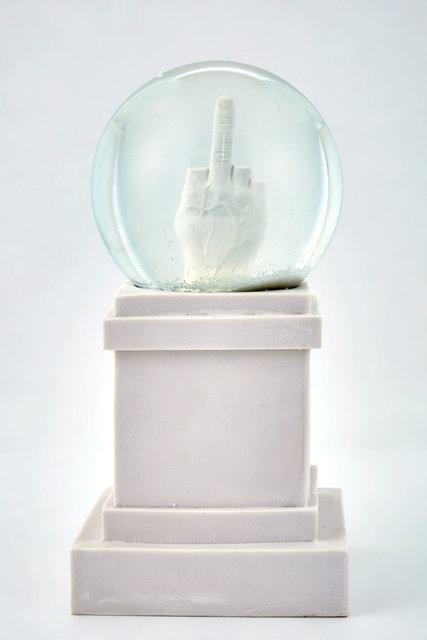 Maurizio Cattelan, 'L.O.V.E. Snow Globe', 2014, Doyle