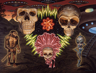 Todd Schorr, 'Missing Link Hypothesis', KP Projects