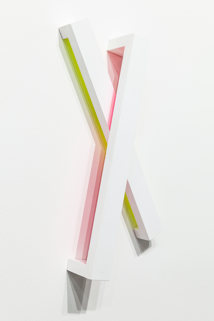 , 'Yellow & Magenta_X (combo),' 2017, Ki Smith Gallery