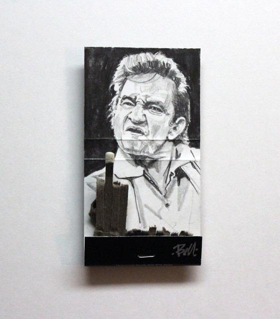 matchbox artists, 'Johnny Cash', 2016, Muriel Guépin Gallery
