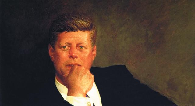 , 'Portrait of JFK,' 1999, Best Buddies International
