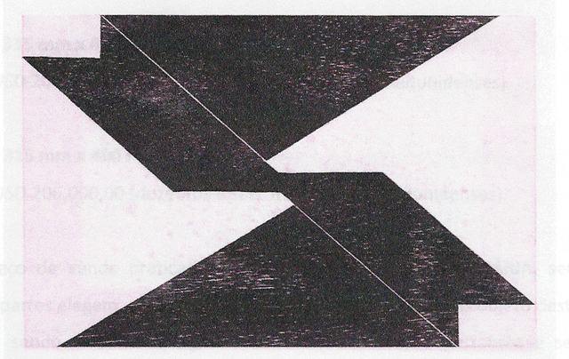 , 'Sem título,' 1959/1960, Arte 57