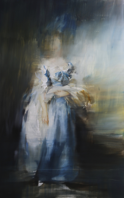 Jake Wood-Evans, 'Sophia Charlotte Digby, Lady Sheffield, after Thomas Gainsborough', 2019, Unit London