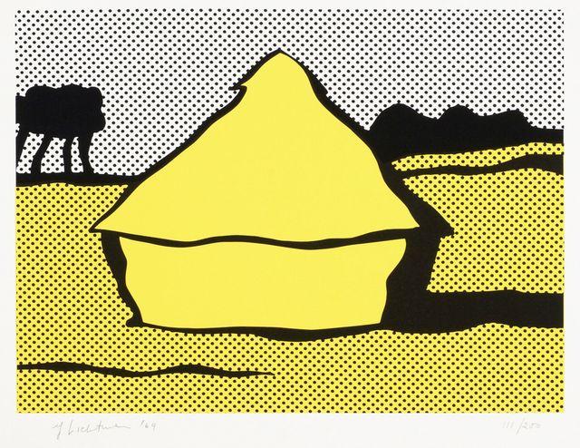 Roy Lichtenstein, 'Haystack [C.84]', 1969, Roseberys