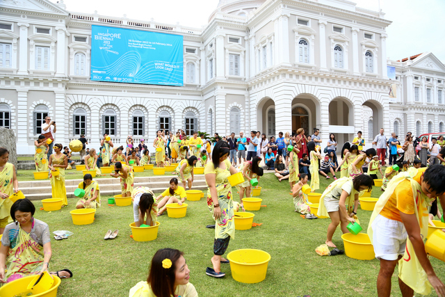 , 'Mandi Bunga (Flower Bath),' 2013, Singapore Art Museum (SAM)