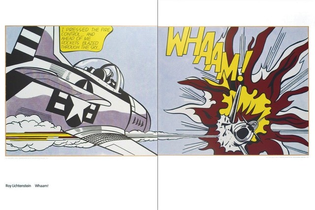 , 'Whaam,' 1963, michael lisi / contemporary art