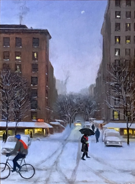 , 'Late Afternoon Snow on the West Side,' 2017, Gallery Neptune & Brown