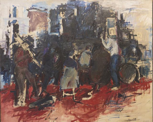 , 'Four A.M. E.S.T.,' 1956, Eric Firestone Gallery