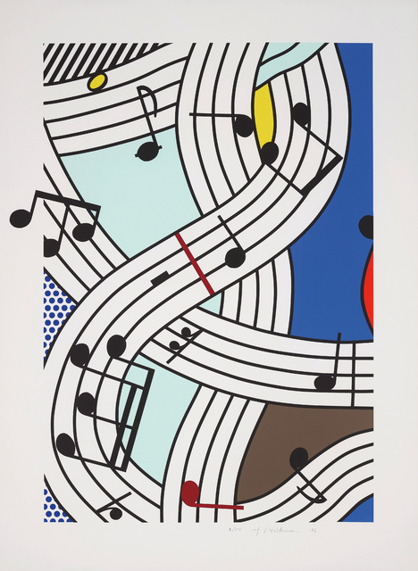 Roy Lichtenstein, 'Composition I', 1996, Phillips