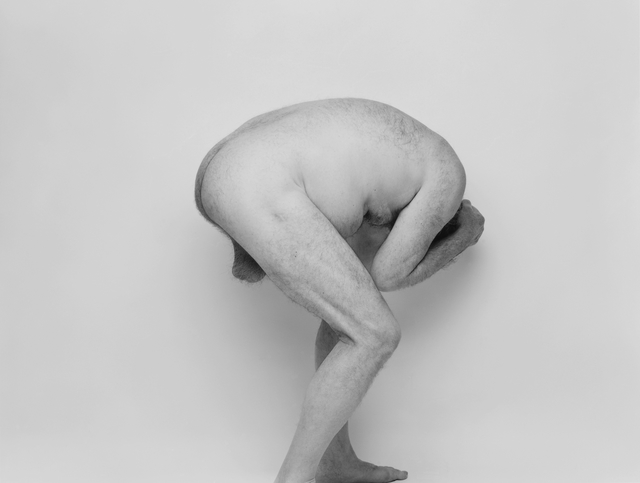 , 'Self Portrait, Crouched,' 1990, Galerie Nordenhake