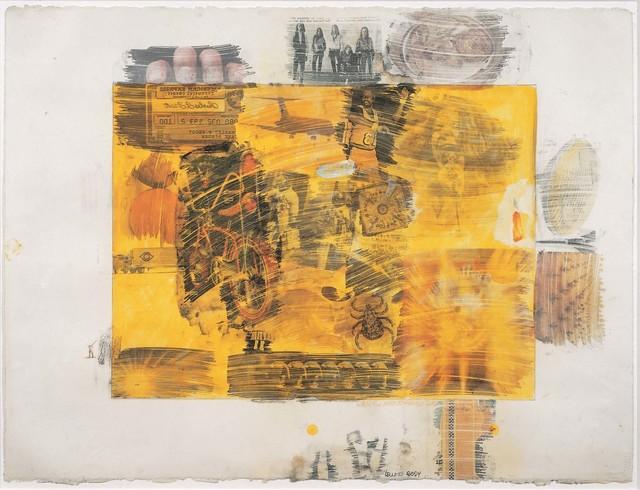 Robert Rauschenberg, 'Yellow Body', 1968, Robert Rauschenberg Foundation