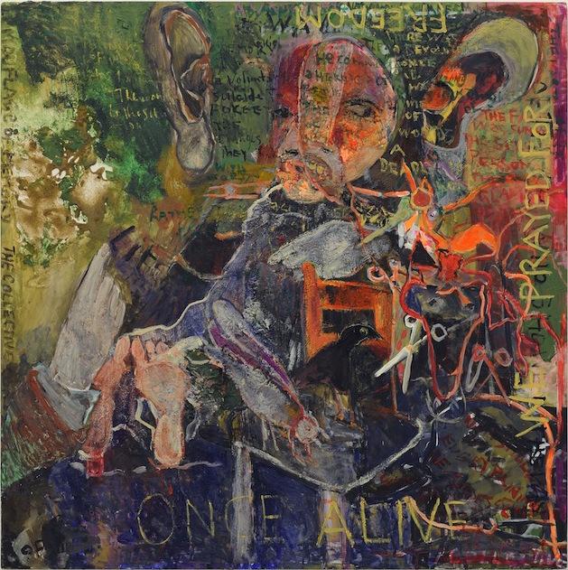 , 'Once Alive We Prayed for Life,' 2014, Sfeir-Semler