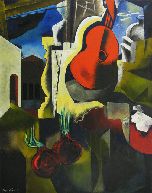 , 'Guitar Rouge,' , Merritt Gallery