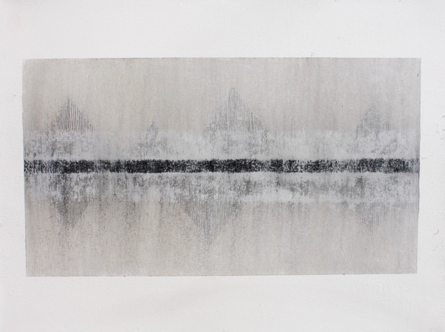 Fiona Robinson, 'La Cathédrale Engloutie, Variation 1', 2018, Drawing, Collage or other Work on Paper, Graphite, charcoal and mixed media, The Drawing Works