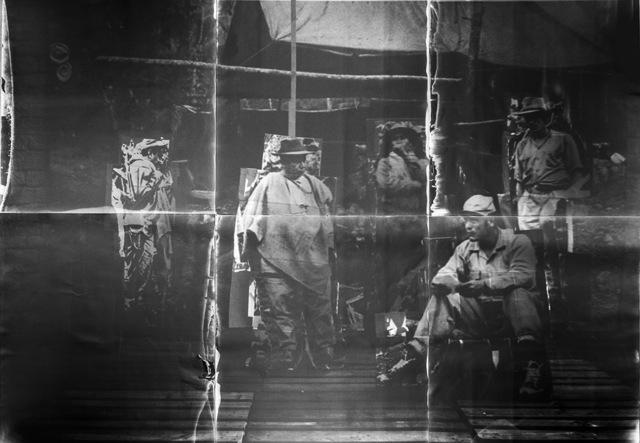 , 'TIROFIJO, «le tir convaincu»,' 2015, Dohyang Lee
