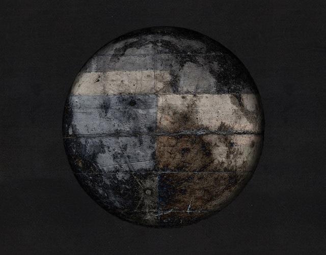 , 'Concrete moon in color,' 2017, GRAFO Gallery