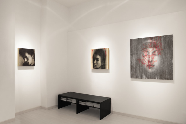 , 'Omar Galliani. Open your eyes, close your eyes exhibition,' 2009, Dep Art Gallery