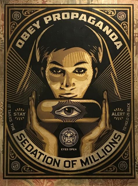 Shepard Fairey, 'Sedation Pill HPM', 2013, Gregg Shienbaum Fine Art