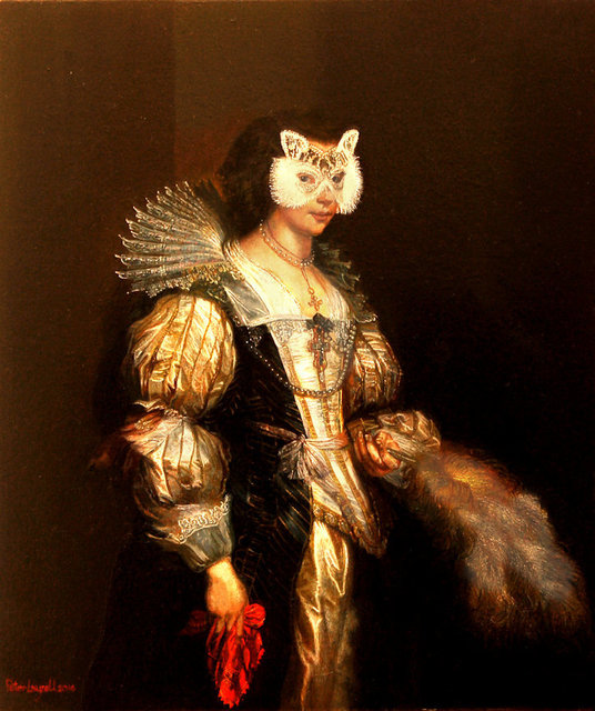 , 'The Silk Merchant's Daughter,' 2016, Portal Painters