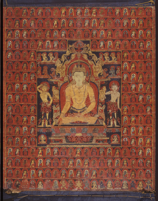 , 'The cosmic Buddha Ratnasambhava,' ca. 1200-1300, Asian Art Museum