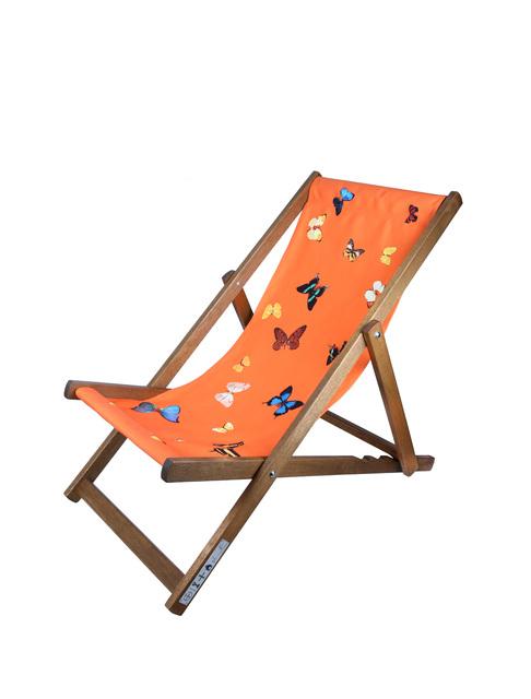 Damien Hirst, 'Deck Chair (Orange)', 2008, Chiswick Auctions