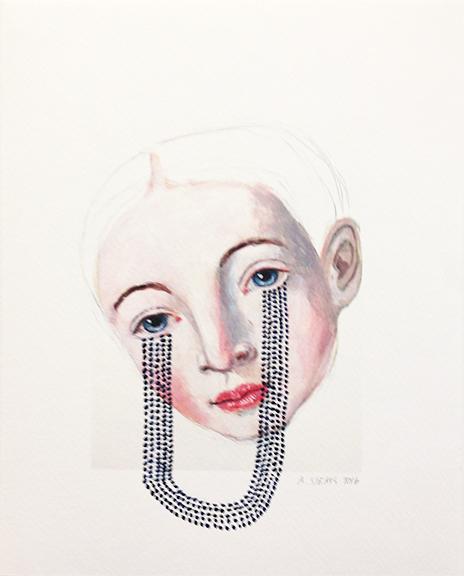 , 'O. W. 10,' 2016, David Lusk Gallery