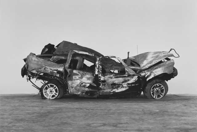 Richard Learoyd, 'Crashed, burned and rolled (2)', 2017, Pace/MacGill Gallery
