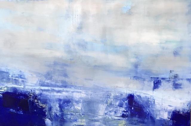 , 'Blue Mist,' 2018, Petroff Gallery