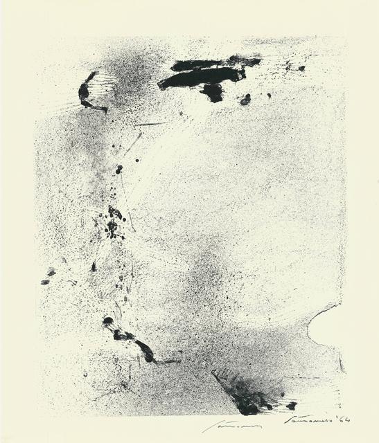 Giuseppe Santomaso, 'Epitaph for Karl Amadeus Hartmann', 1964, Cerbera Gallery