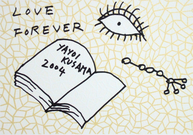 Yayoi Kusama, 'Book to Read at Night A', 2004, Watanuki Ltd. / Toki-no-Wasuremono