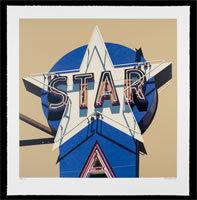 Robert Cottingham, 'Star', 2009, Print, Silkscreen, Contemporary Art and Editions