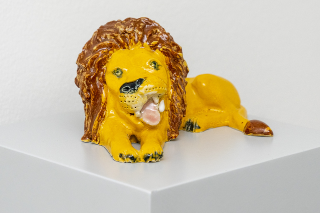 , 'Down's Syndrome Lion,' 2018, Hans Alf Gallery