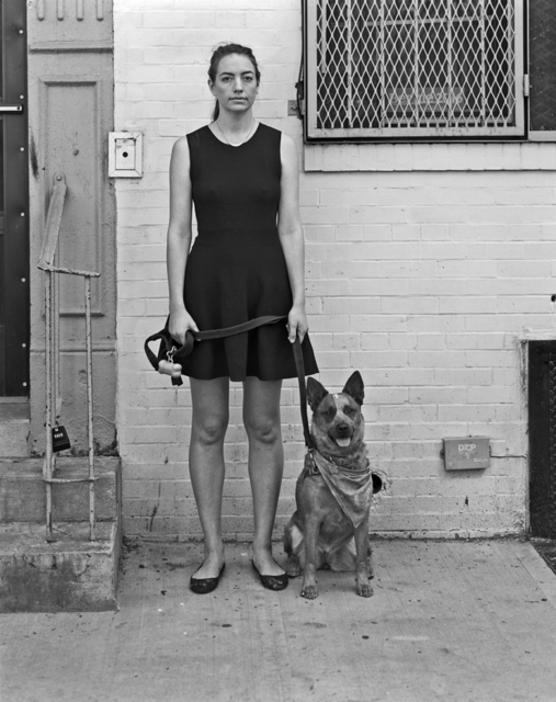 , 'Claire with Laika,' 2016, Soho Photo Gallery