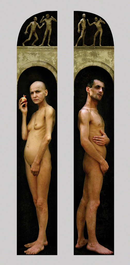 Raoef Mamedov, 'Adam and Eve. Diptych,' 2000, Frolov Gallery