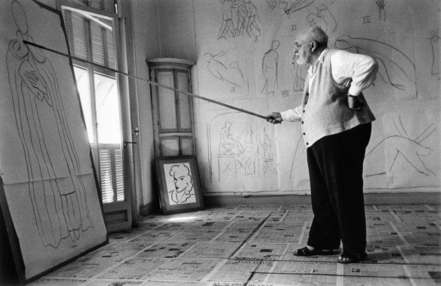 , 'Henri Matisse in his studio. Nice, France.,' 1949, Magnum Photos