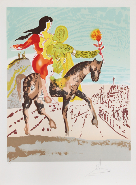 Salvador Dalí, 'The Messiah', 1980, RoGallery
