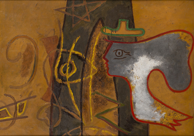 Georges Braque, 'Profil', ca. 1942, HELENE BAILLY GALLERY