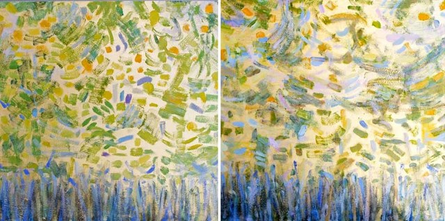, 'Growth Part I and II,' 2015, Madelyn Jordon Fine Art