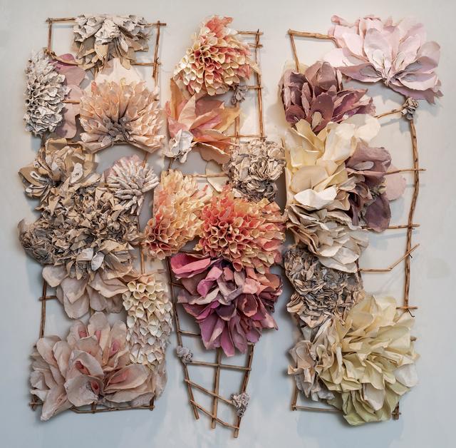 Rebecca Hutchinson, 'Orange Burst', 2019, Duane Reed Gallery