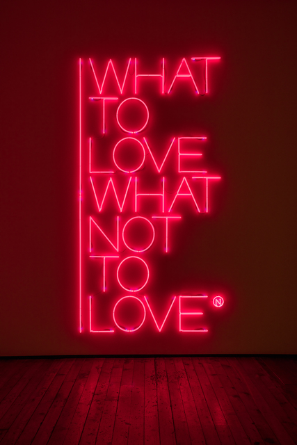 , 'What to love what not to love,' 2017, Galleria Fumagalli